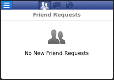 No New Friend Requests