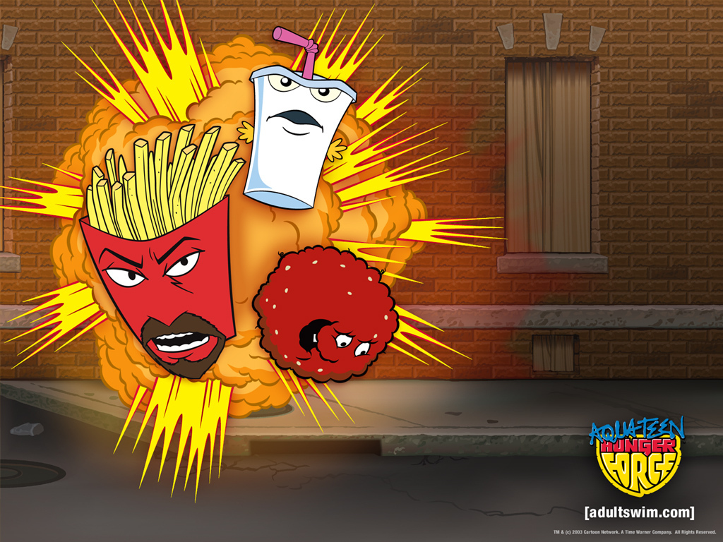 Aqua Teen Hunger Force promo graphic