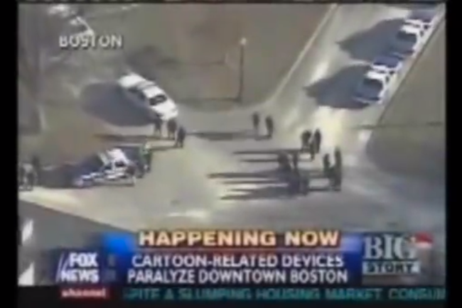 Aqua Teen Hunger Force Boston Bomb Scare Headline