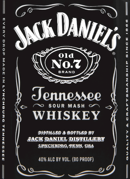 The Jack Daniel's Label