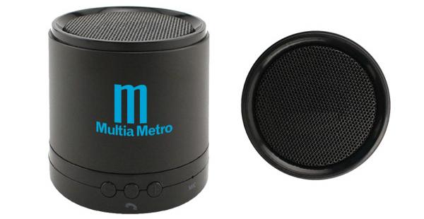 custom printed bluetooth speaker