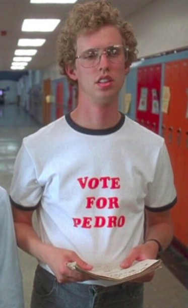 vote-for-pedro-promotional-shirt