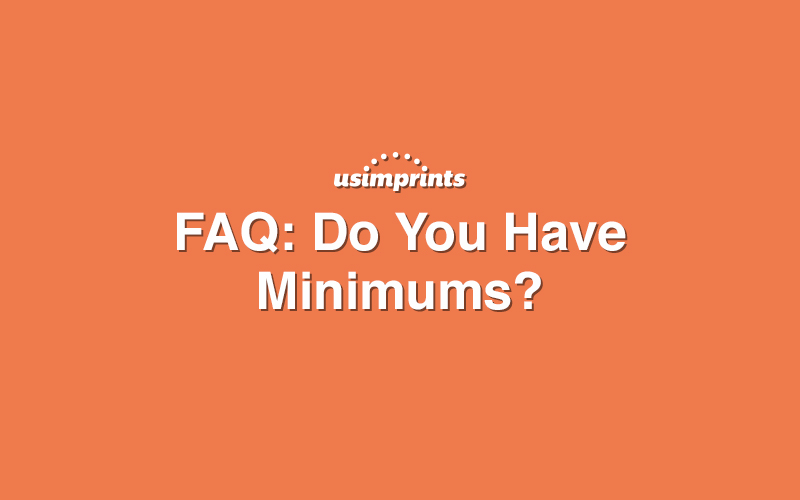 minimums-for-promotional-products