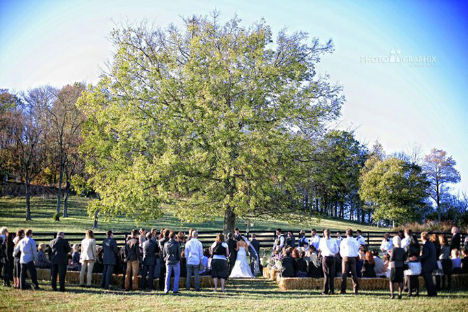 Barn Wedding in Leiper's Fork, TN