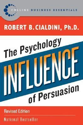 The cover of Robert Cialdini's book, Influence