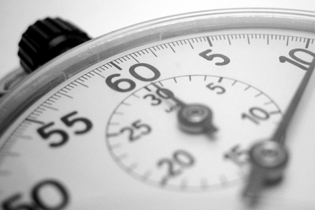 A picture of a stopwatch